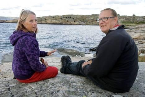 Gun Lund och Lars Persson Bild: Bohusläningen
