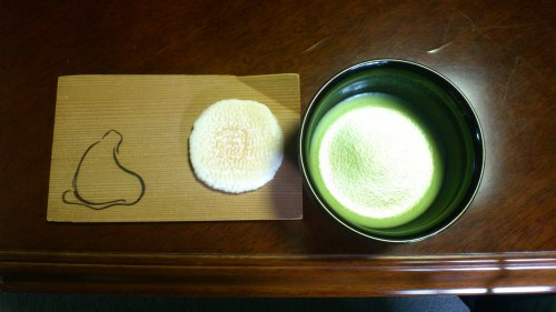 Frukost på Zentemplet Shunkoin i Kyoto