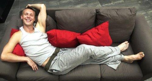 Frej i soffa