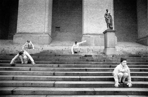 Rubicon i Götaplatsens trappor Foto: Elisabeth Olsson
