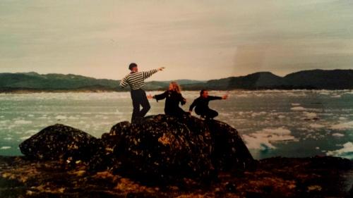Jag och Nina och Ville Hukkinen i Aasivik