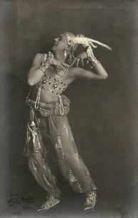 Jean Börlin, konstnärlig ledare för Ballet Suèdois Foto:Ferdy Flodin, 1919