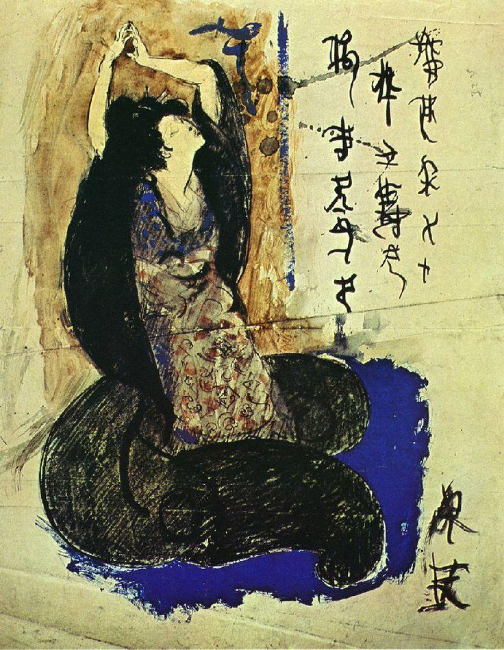 Picassos porträtt av Yakko, 1901