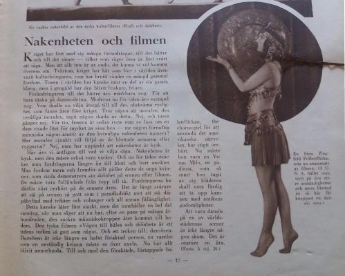 Filmjournalen 1926