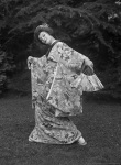 Anna Pavlova Dancing a Japanese Solo at Ivy House, Hampstead Heath, London, England,1923