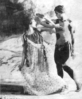 Bronislava Nijinska och Vaslav Nijinsky